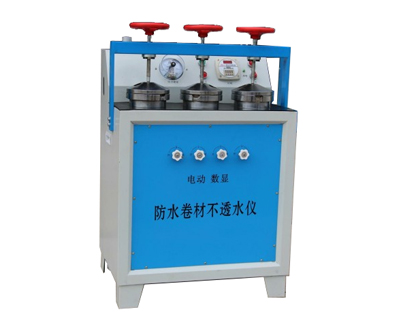 防水卷材不透水性试验仪