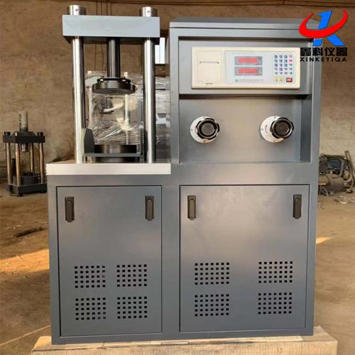 水泥压力试验机DYE-300的技术参数及结构原理
